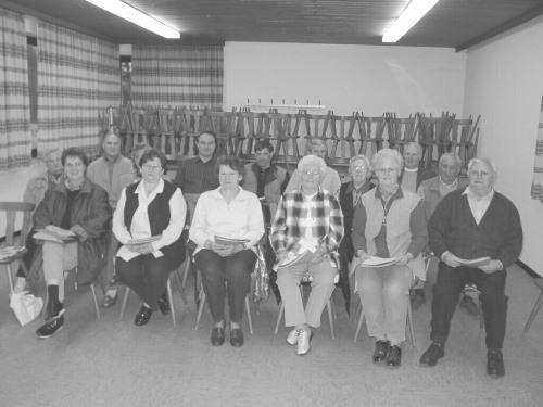 Mitglieder des Vereins Heimatlied